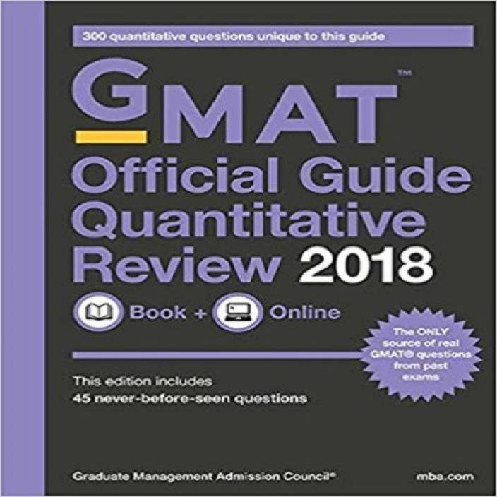 gmat official guide quantitative review
