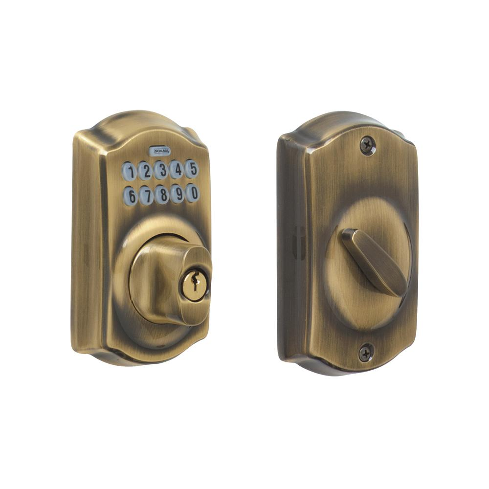 schlage door keypad locks programming guide