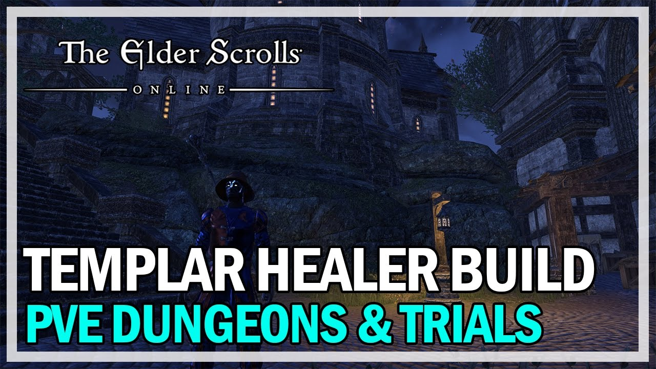 eso templar healer build guide
