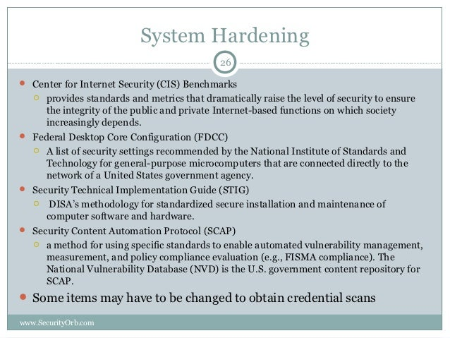 center for internet security hardening guide