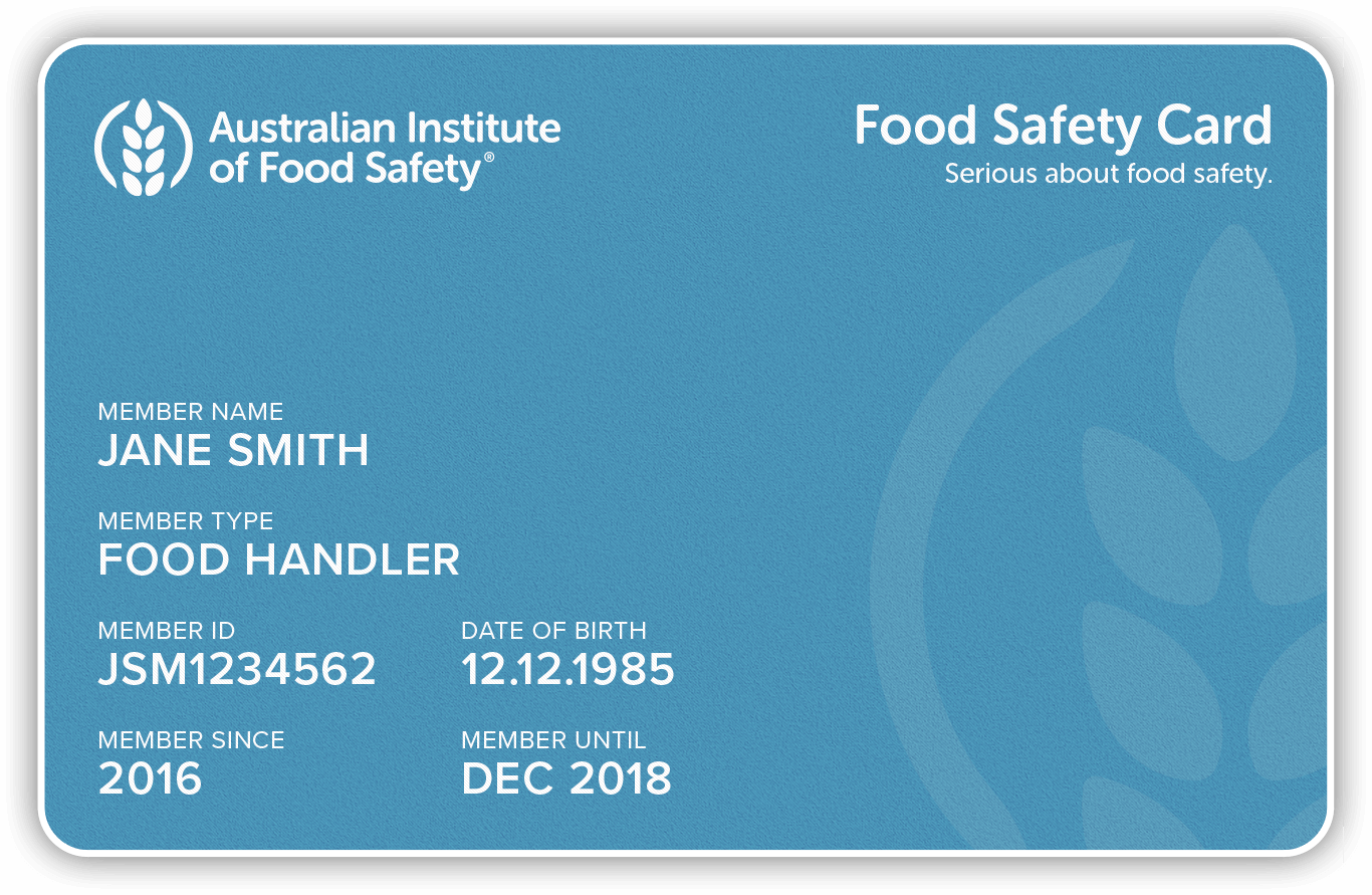 food handlers card study guide