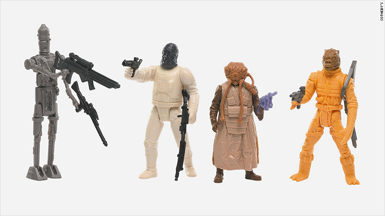 star wars action figures value guide