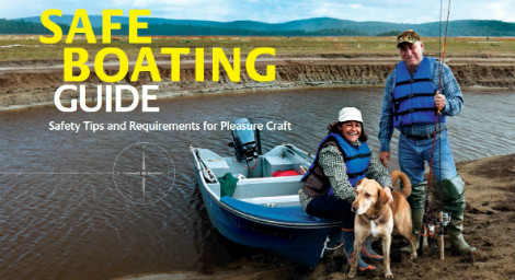 transport canada safe boating guide 2015